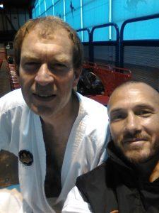 Hervé et Jean-René, un selfie pour deux médailles de bronze...